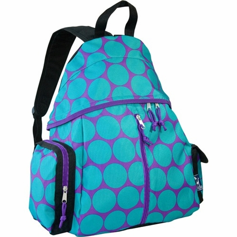 Big Dots Agua Soccer Bag - Free Shipping