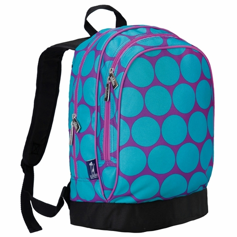 Big Dots Aqua Sidekick Kids Backpack - Free Shipping