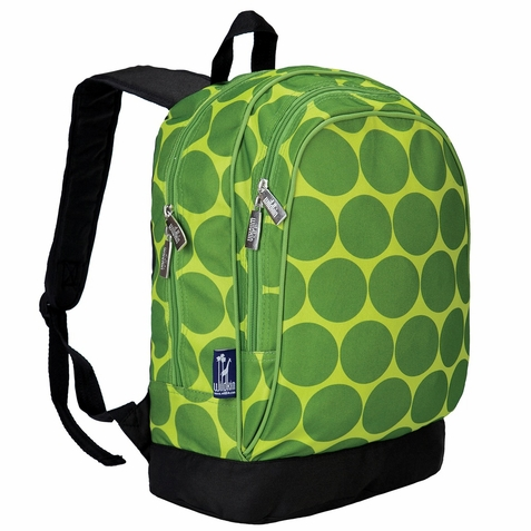 Big Dots Green Backpack