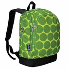 Big Dots Green Backpack - Free Shipping