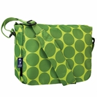 Big Dots Green Kickstart Kids Messenger Bag - Free Shipping