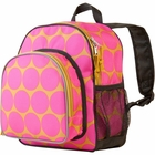 Big Dots Hot Pink Pack 'n Snack Backpack