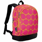 Big Dots Hot Pink Sidekick Girls Backpack - Free Shipping