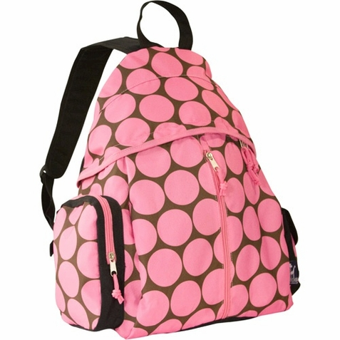 Big Dots Pink Soccer Bag