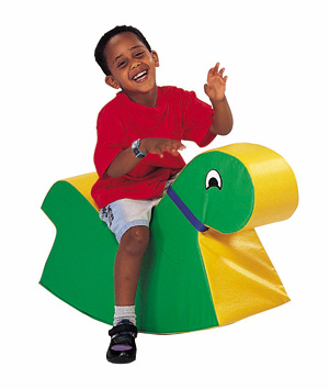 Big Green Rocky Soft Play Toy