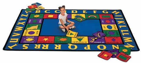 Bilingual Classroom Rug Factory Second 5'10 x 8'4
