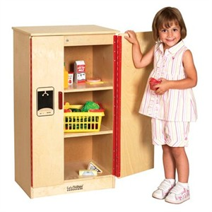 ECR4Kids Birch Play Refrigerator