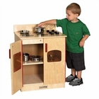 ECR4Kids Birch Pretend Play Stove