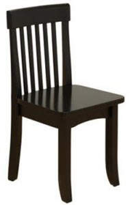KidKraft Black Avalon Chair by