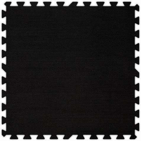 Black Foam Premium Interlocking Squares - Free Shipping