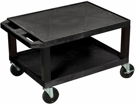 Black Tuffy Short Utility Cart