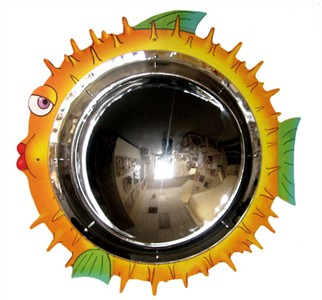 Anatex Blow Fish Wall Mirror