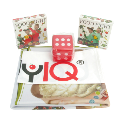 BODY IQ - Food Fight Fruit & Veggie Classroom Set