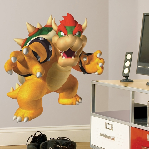Bowser Peel & Stick Giant Wall Decal