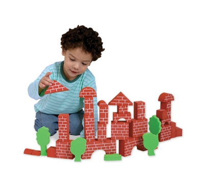 Brick-Like Safe Children's Edublocks