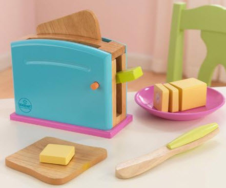 KidKraft Bright Toaster Set