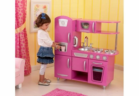 KidKraft Bubblegum Vintage Kitchen - Out of Stock