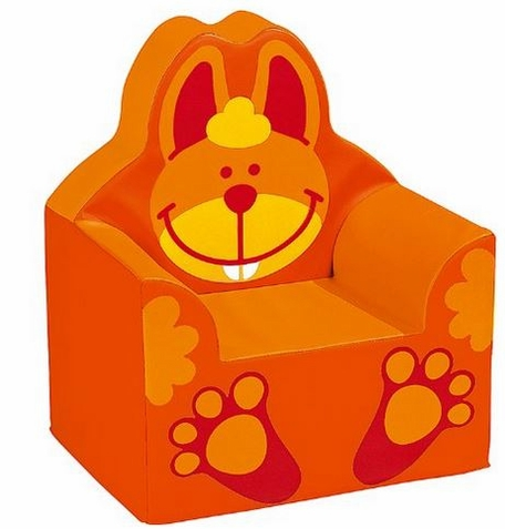 WESCO Bunny Rabbit Vinyl Covered Armchair