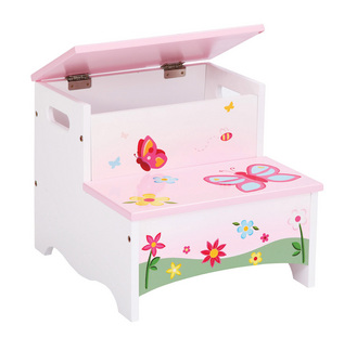 Butterfly Buddies Storage Step Up - Free Shipping