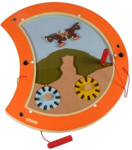 Caterpillar Balance Wall Panel Toy