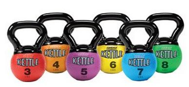 Champion Sports Mini Rhino Kettle Bell