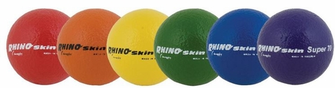 Champion Sports Rhino Skin High Bounce Dodge Ball Set