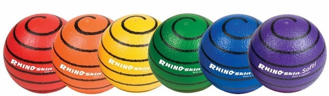 Champion Sports Rhino Skin Medium Bounce Foam Ball Set - Free Shipping