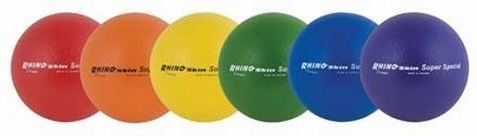 Champion Sports Rhino Skin Super Special Low Bounce Ball Set