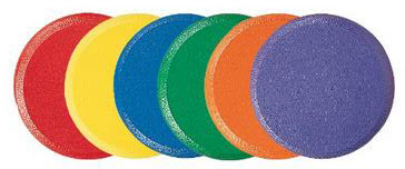 Champion Sports Rounder Edge Foam Disc Set - Free Shipping