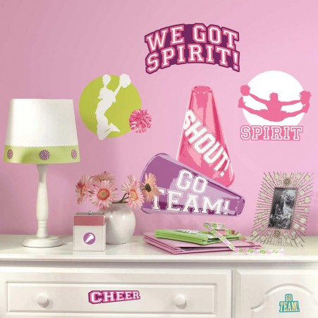 Cheer Peel & Stick Wall Decals