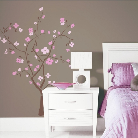 Cherry Blossom Peel & Stick Decal