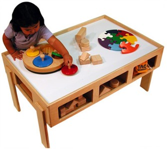 Child's Wooden Activity Table - Out of Stock