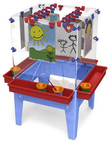 ChildBrite Toddler 4 Station Space Saver Easel
