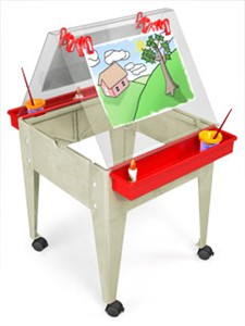 ChildBrite Youth Basic Easel with Casters