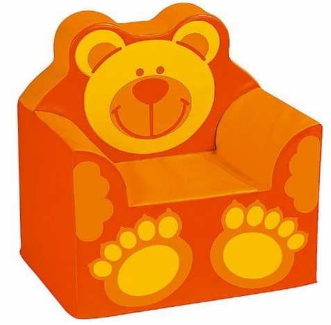 Children's Bear Themed Foam Armchair