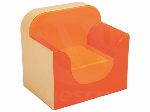 Waiting Area Children's Club Style Foam Armchair