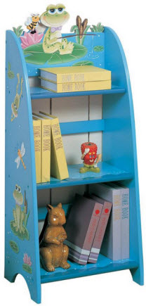 Children's Frog Bookcase