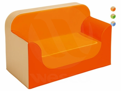 WESCO Childrens School Age Vinyl Club Sofa