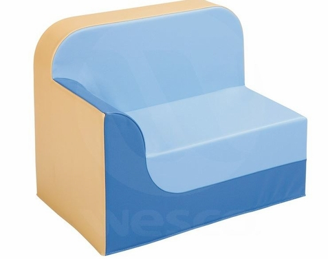 WESCO Childrens Vinyl Club Chair with Right Armrest