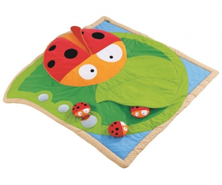 Christelle the Ladybug Early-Learning Mat