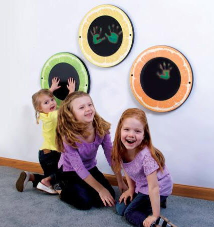 Citrus Magic Set of 3 Waiting Room Wall Toys