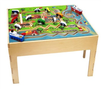 Anatex City Transportation Activity Play Table