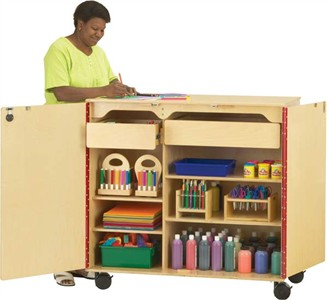 Jonti-Craft Classroom Mega Supply Cabinet
