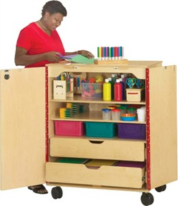 Jonti-Craft Classroom Supply Cabinet by
