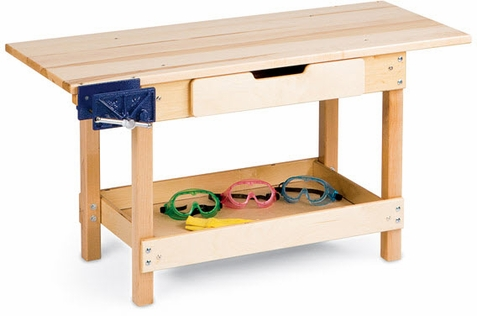 Jonti-Craft Classroom Workbench With Drawer