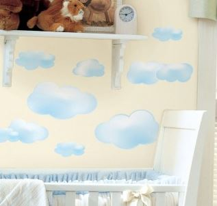 Clouds Peel & Stick Decals