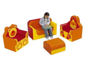 WESCO Club Animal Soft Vinyl Furniture Set