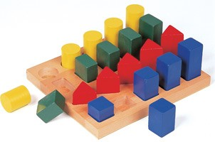 Colored Geo Forms Sorting Toy - Out of Stock