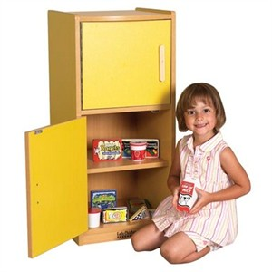 ECR4Kids Colorful Essentials Play Refrigerator - 3 Color Choices
