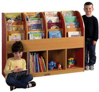 ECR4Kids Colorful Essentials Single-Sided Book Stand